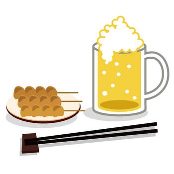 焼き鳥ビール.jpg